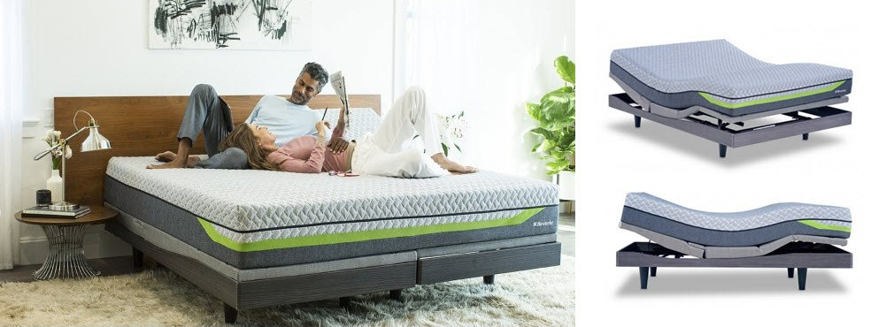 Reverie Dream Supreme Ii Hybrid Sleep System With Mattress And 9t Adjule Base